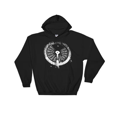 Hooded Sweatshirt, submarine gauge-Marine-Local Webstore