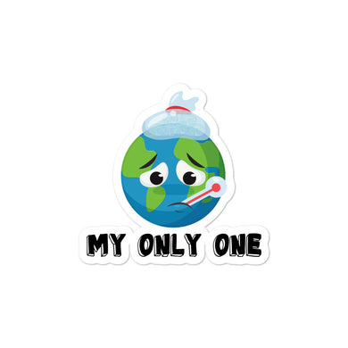 Sticker, my only one-Sustainability-Local Webstore