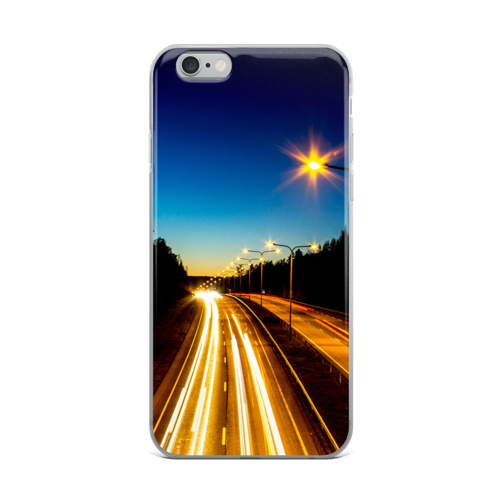 iPhone Case, highway at night - Local Web Store - [product type] Collection