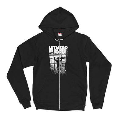 Zip Hoodie, let me go-Freedom-Local Webstore