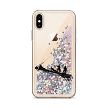 Load image into Gallery viewer, Liquid Glitter Phone Case, tall ship bow - Local Web Store - [product type] Collection
