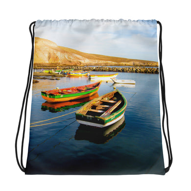 Drawstring Bag, fishing boats-Marine-Local Webstore