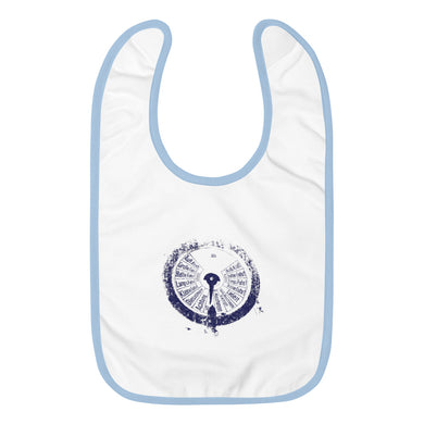 Embroidered Baby Bib, submarine gauge - Local Web Store - [product type] Collection