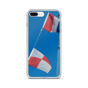 iPhone Case, flying flags-Marine-Local Webstore