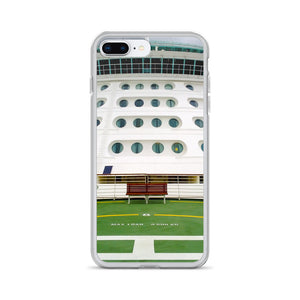 iPhone Case, front of cruise liner-Marine-Local Webstore