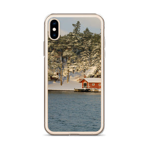 iPhone Case, shed in archipelago-Marine-Local Webstore