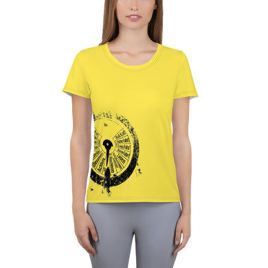 Women's Athletic T-shirt, submarine gauge - Local Web Store - [product type] Collection