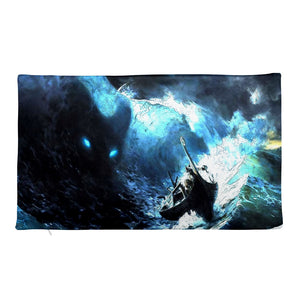 Premium Pillow Case, stormy sea-Marine-Local Webstore