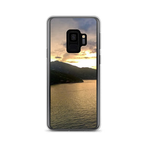 Samsung Case, cruise liner in sunset-Marine-Local Webstore