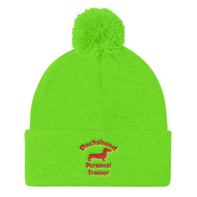 Pom Pom Knit Cap, personal trainer - Local Web Store - [product type] Collection