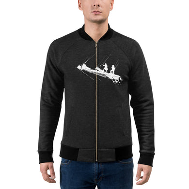 Bomber Jacket, tall ship bow - Local Web Store - [product type] Collection