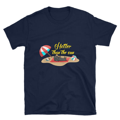Bargain T-Shirt, dachshund on the beach - Local Web Store - [product type] Collection