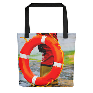 Tote Bag, lifering and rescuer-Marine-Local Webstore