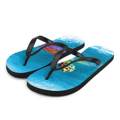 Flip-Flops, swimming turtle-Marine-Local Webstore