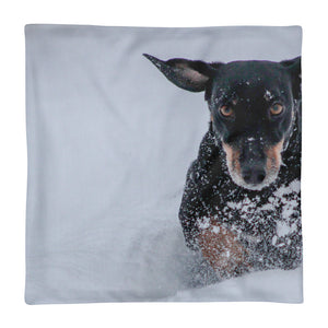 Premium Pillow Case, running dachshund-Dachshund-Local Webstore
