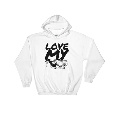 Hooded Sweatshirt, Love my Dachshunds-Dachshund-Local Webstore