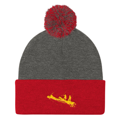 Pom Pom Knit Cap, tall ship bow - Local Web Store - [product type] Collection