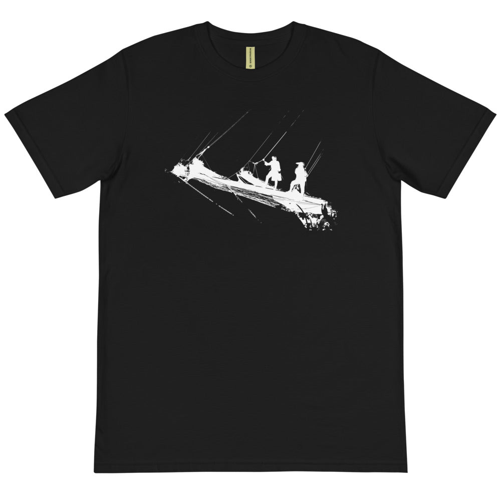 Organic T-Shirt, tall ship bow - Local Web Store - [product type] Collection