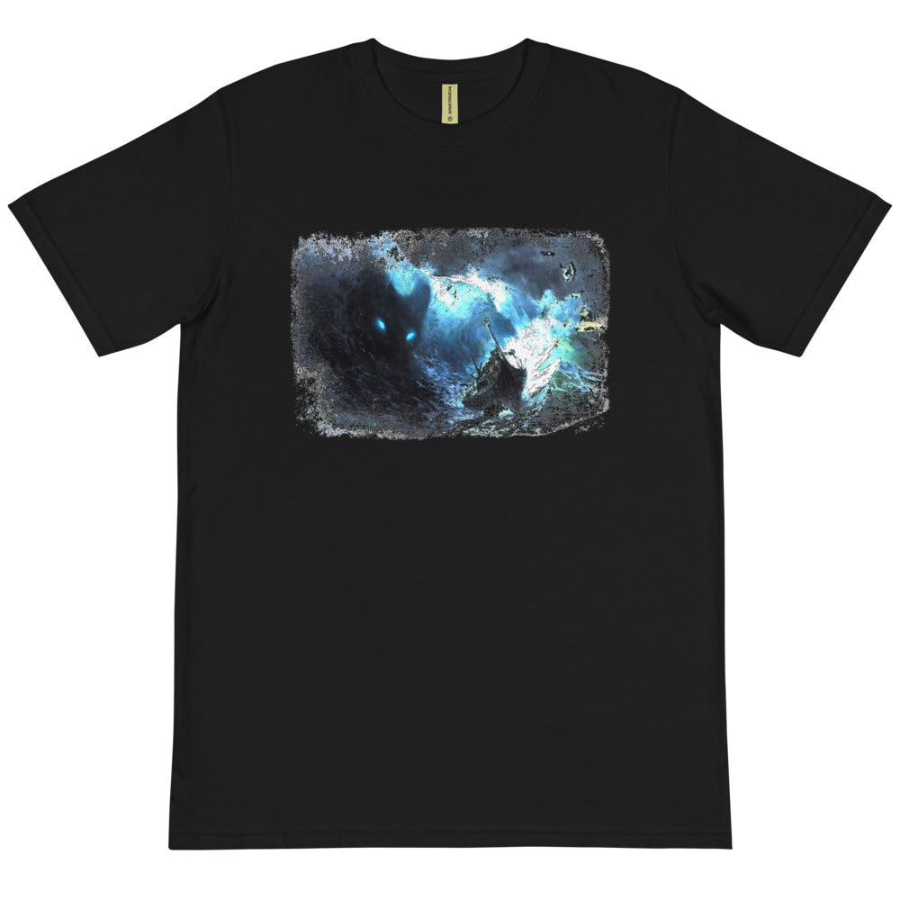 Organic T-Shirt, stormy ocean-Marine-Local Webstore