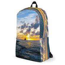 Load image into Gallery viewer, Backpack, sailboat in sunset-Marine-Local Webstore