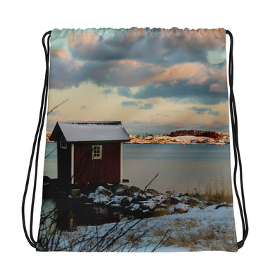 Drawstring Bag, hut in archipelago-Marine-Local Webstore