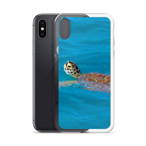 iPhone Case, swimming turtle-Marine-Local Webstore
