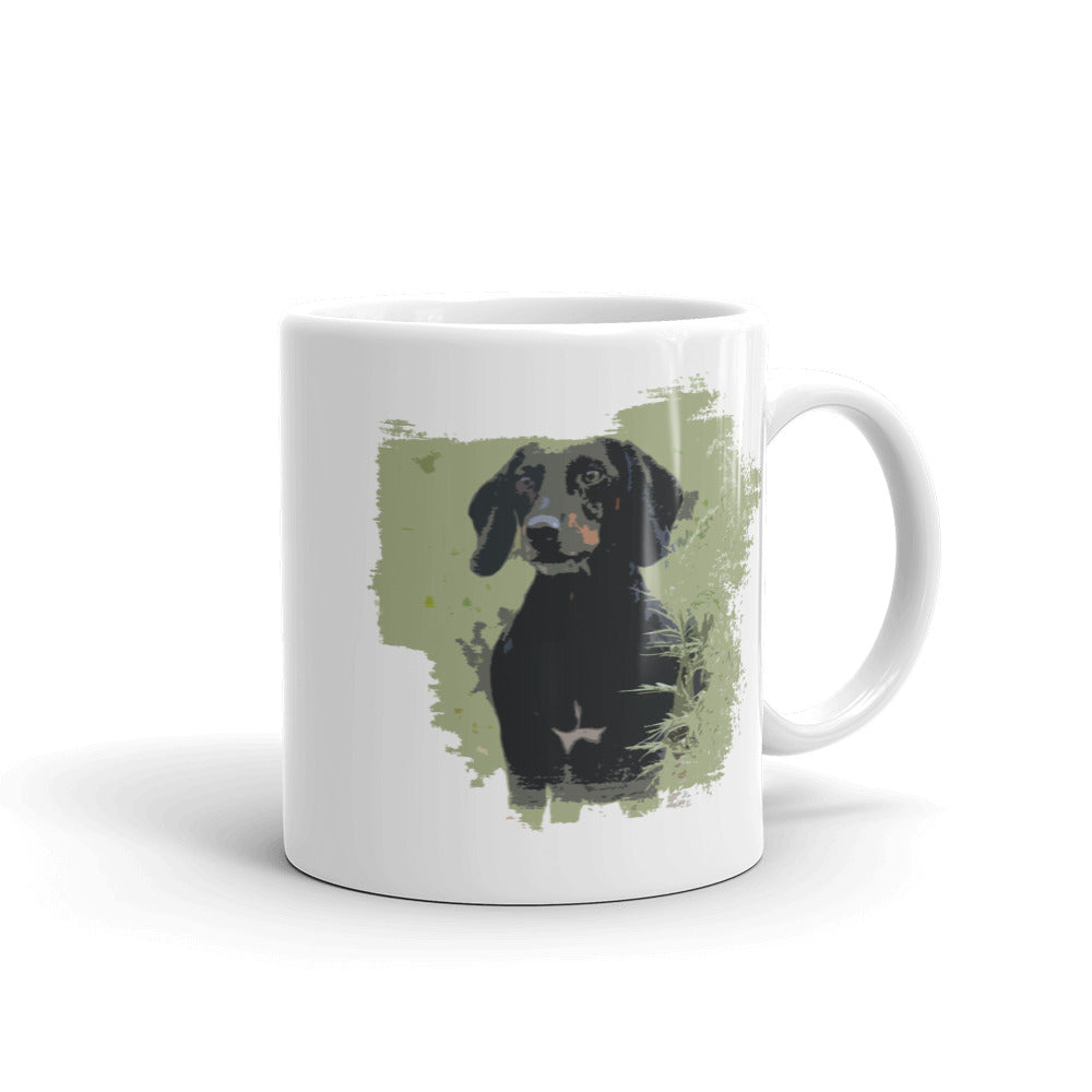 Mug, smooth coat dachshund-Dachshund-Local Webstore