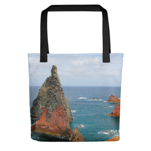 Tote Bag, rocky shore-Marine-Local Webstore