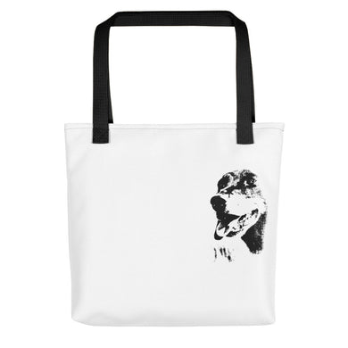 Tote Bag, dachshund close-up-Dachshund-Local Webstore