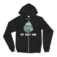 Load image into Gallery viewer, Zip Hoodie, my only one-Sustainability-Local Webstore