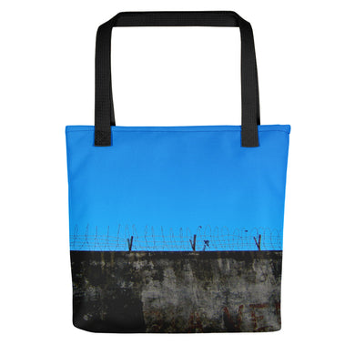 Tote Bag, barbed wire-Freedom-Local Webstore