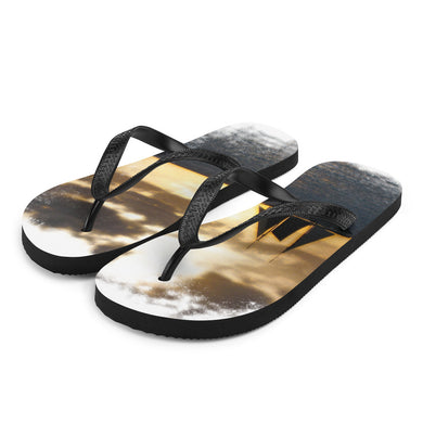 Flip-Flops, sailboat in sunset-Marine-Local Webstore