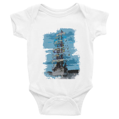 Infant Bodysuit, tall ship - Local Web Store - [product type] Collection