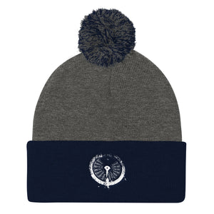 Pom Pom Knit Cap, submarine gauge - Local Web Store - [product type] Collection