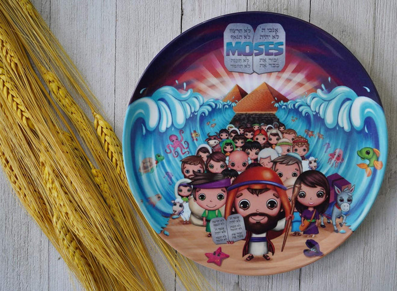 Round Plate - Moses