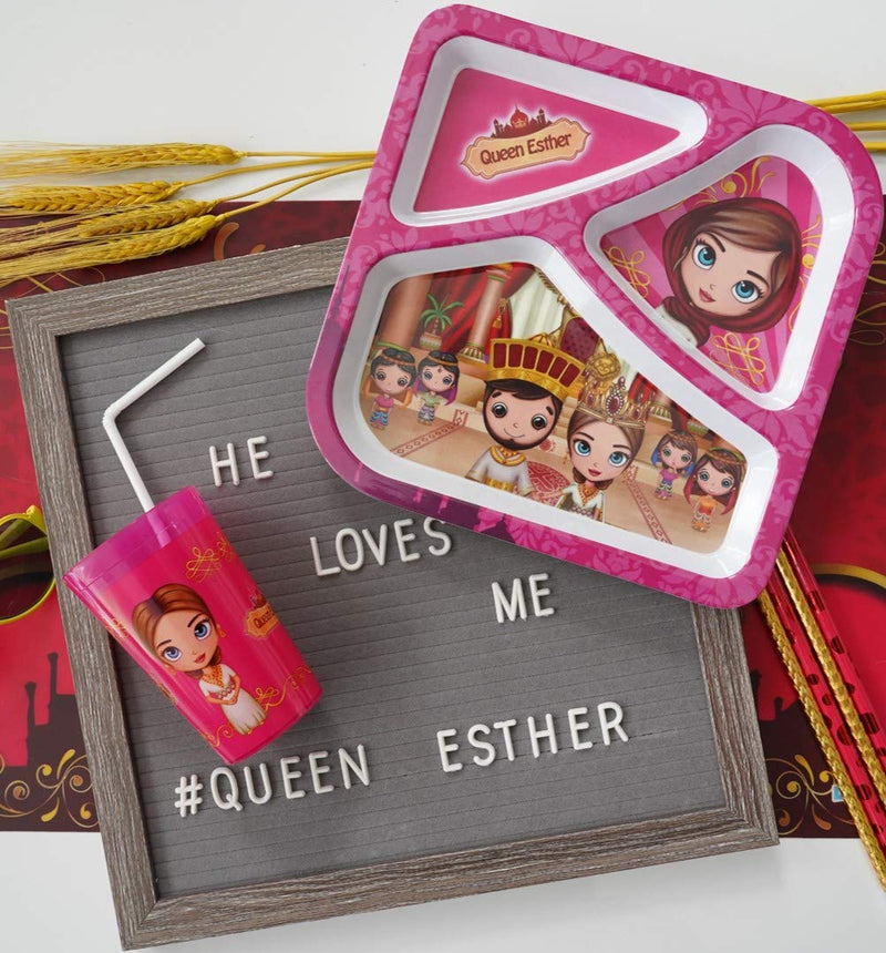 Divided Plate - Queen Esther