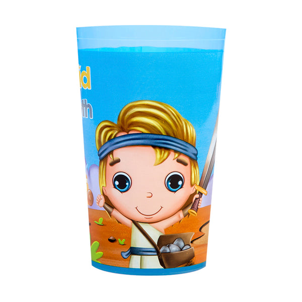 Plastic Tumbler Cup - David & Goliath