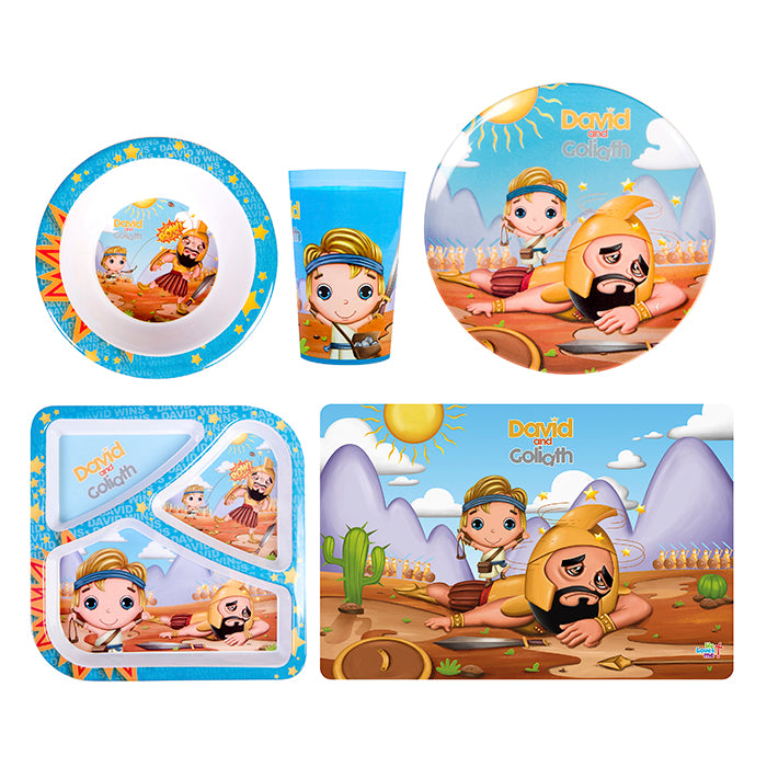 Mealtime Combo 5pcs - David & Goliath