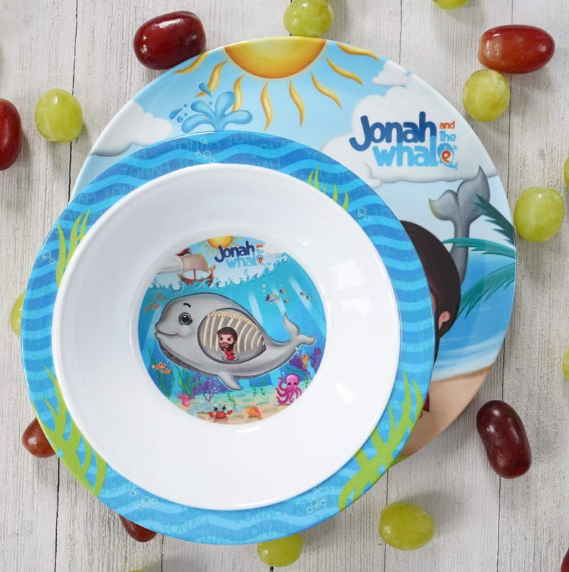 Round Bowl - Jonah and the Whale