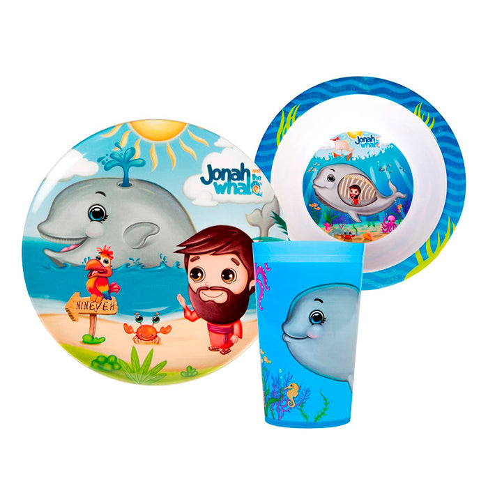 Mealtime Gift Set 3pcs- Jonah and the Whale