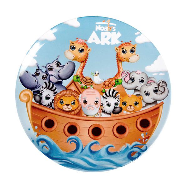 Round Plate - Noah's Ark