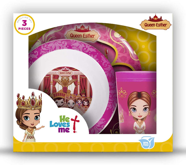 Mealtime Gift Set 3pcs - Queen Esther
