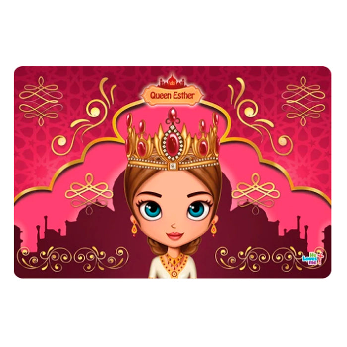 Placemat - Queen Esther Face