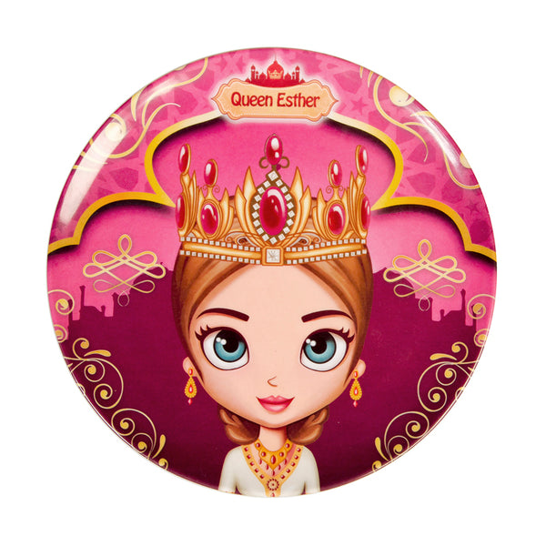 Round Plate - Queen Esther