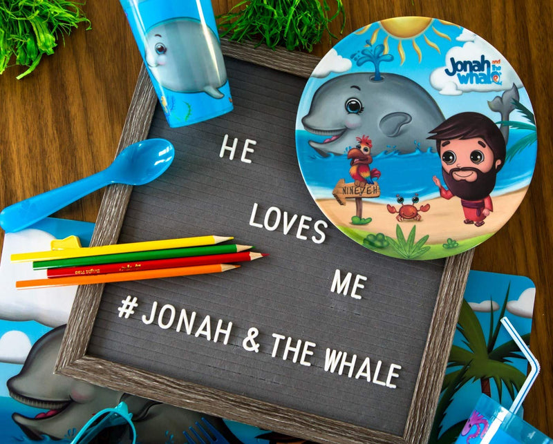 Round Plate - Jonah and the Whale