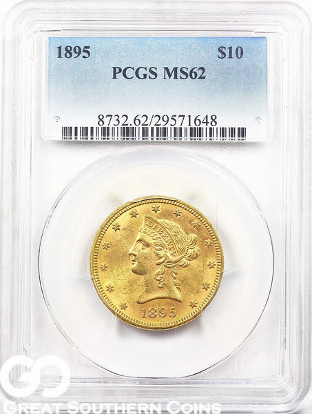 U.S. Gold, $10 Liberty Eagle PCGS MS 62 ** Random Dates