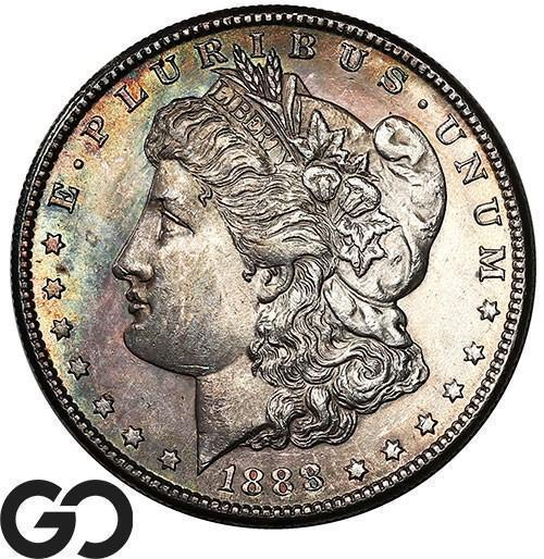 1888-S Morgan Silver Dollar, Beautiful Choice BU++ Better Date!