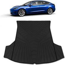 Load image into Gallery viewer, RUBBER HEA Tesla Model 3 Trunk Mat - Fits 2017 - 2021