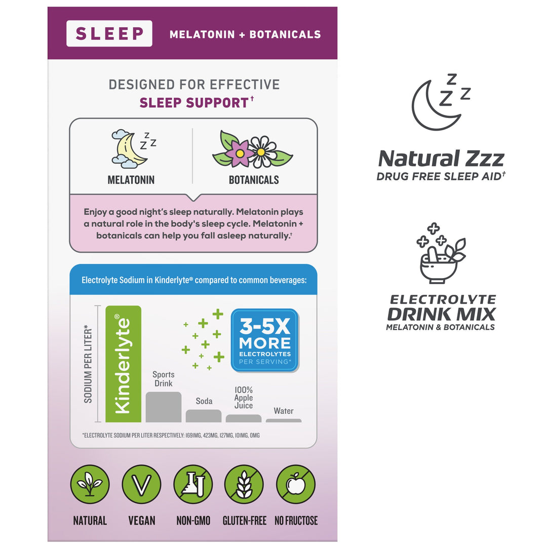 Herbal Sleep Supplement Wild Berry Lavender Kinderlyte