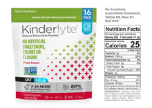Load image into Gallery viewer, 16ct Natural Electrolyte Powder Fruit Punch Kinderlyte